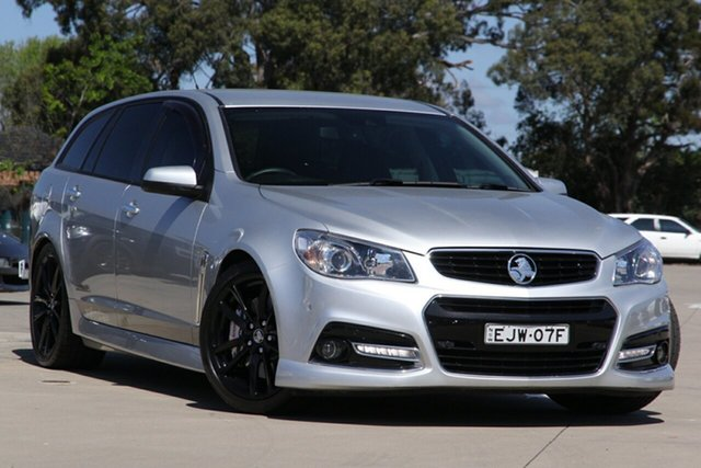 Used Holden Commodore VF SS-V Redline, 2013 Holden Commodore VF SS-V Redline Silver 6 Speed Automatic Sportswagon