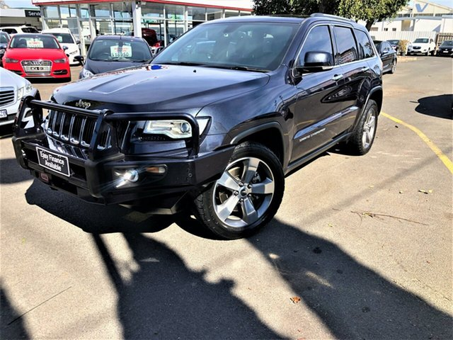 Used Jeep Grand Cherokee WK MY15 Limited Seaford, 2015 Jeep Grand Cherokee WK MY15 Limited Grey 8 Speed Sports Automatic Wagon