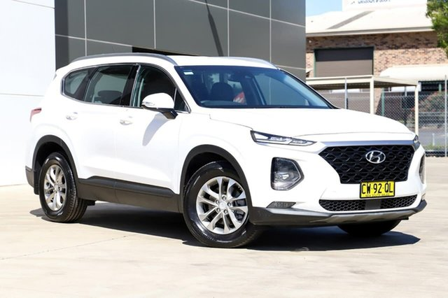 Used Hyundai Santa Fe TM.2 MY20 Active, 2019 Hyundai Santa Fe TM.2 MY20 Active White 8 Speed Sports Automatic Wagon