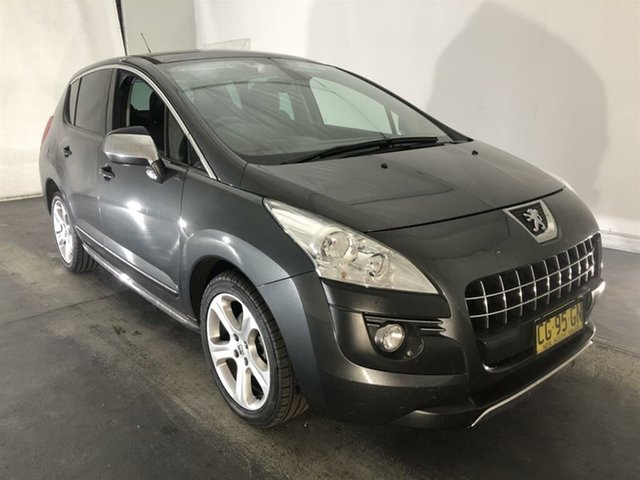 Used Peugeot 3008 T8 MY13 Allure SUV, 2013 Peugeot 3008 T8 MY13 Allure SUV Grey 6 Speed Sports Automatic Hatchback