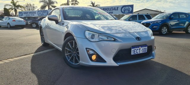 Used Toyota 86 ZN6 GT East Bunbury, 2012 Toyota 86 ZN6 GT Silver 6 Speed Sports Automatic Coupe