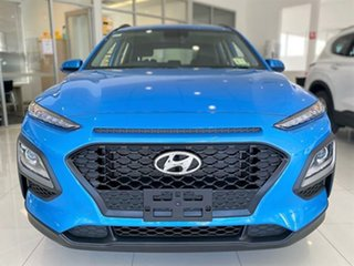 2020 Hyundai Kona OS.3 MY20 Active 2WD Blue Lagoon 6 Speed Sports Automatic Wagon.