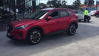 2016 Mazda CX-5 KE1032 Grand Touring SKYACTIV-Drive AWD Red 6 Speed Sports Automatic Wagon