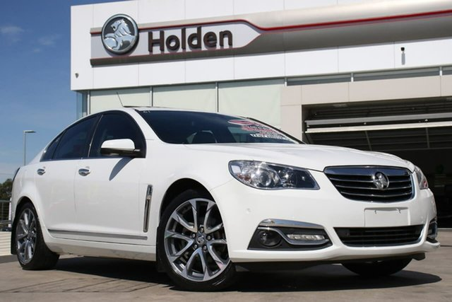 Used Holden Calais VF II MY16 V, 2016 Holden Calais VF II MY16 V White 6 Speed Sports Automatic Sedan