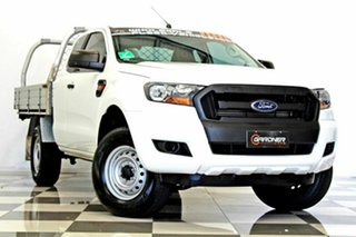 2017 Ford Ranger PX MkII MY18 XL 2.2 Hi-Rider (4x2) White 6 Speed Automatic Super Cab Chassis.