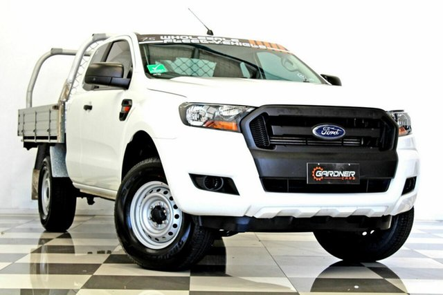Used Ford Ranger PX MkII MY18 XL 2.2 Hi-Rider (4x2), 2017 Ford Ranger PX MkII MY18 XL 2.2 Hi-Rider (4x2) White 6 Speed Automatic Super Cab Chassis