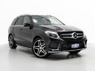 2015 Mercedes-Benz GLE350D 166 Black 9 Speed Automatic Wagon.