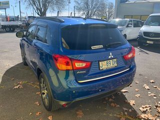 2016 Mitsubishi ASX XC MY17 LS 2WD Blue 6 Speed Constant Variable Wagon