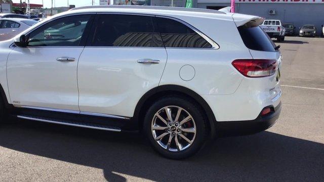 Used Kia Sorento UM MY17 GT-Line AWD, 2017 Kia Sorento UM MY17 GT-Line AWD White 6 Speed Sports Automatic Wagon