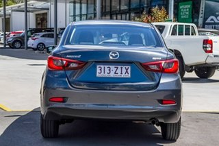 2016 Mazda 2 DL2SA6 Neo SKYACTIV-MT Grey 6 Speed Manual Sedan