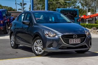 2016 Mazda 2 DL2SA6 Neo SKYACTIV-MT Grey 6 Speed Manual Sedan.