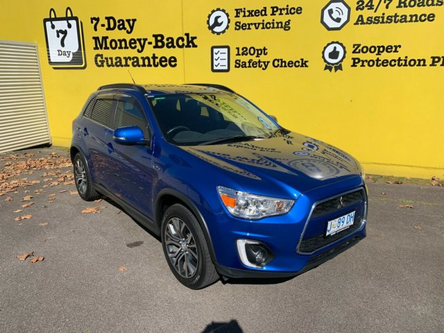 Used Mitsubishi ASX XC MY17 LS 2WD, 2016 Mitsubishi ASX XC MY17 LS 2WD Blue 6 Speed Constant Variable Wagon