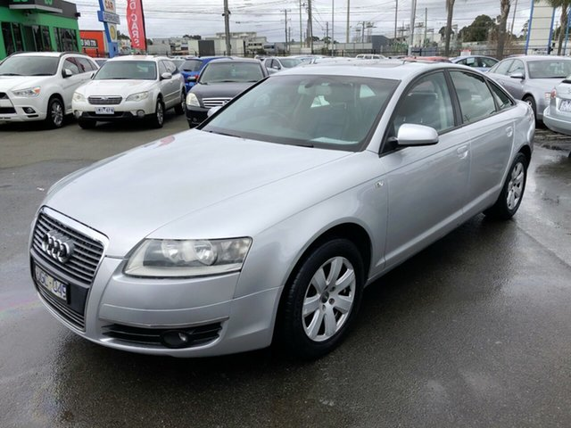 Used Audi A6 4F MY07 Multitronic, 2006 Audi A6 4F MY07 Multitronic Silver 1 Speed Constant Variable Sedan