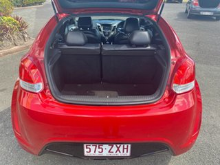 2012 Hyundai Veloster FS + Coupe Red 6 Speed Manual Hatchback