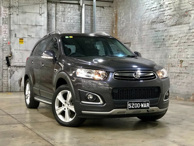 Used Holden Captiva CG MY15 7 AWD LTZ, 2015 Holden Captiva CG MY15 7 AWD LTZ Grey 6 Speed Sports Automatic Wagon