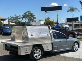 2003 Ford Falcon BA Tradesman Super Cab XL Silver 4 Speed Sports Automatic Traytop.