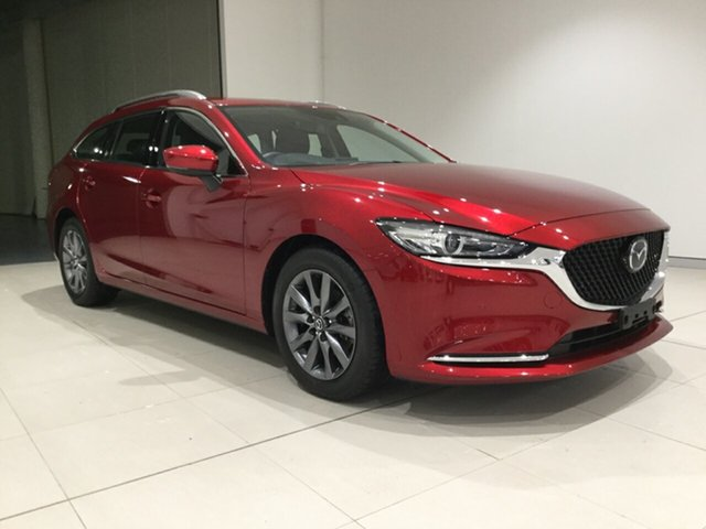 Used Mazda 6 GL1033 Touring SKYACTIV-Drive, 2019 Mazda 6 GL1033 Touring SKYACTIV-Drive Soul Red 6 Speed Sports Automatic Wagon