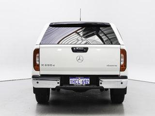 2018 Mercedes-Benz X-Class 470 250d Power (4Matic) White 7 Speed Automatic Dual Cab Pick-up