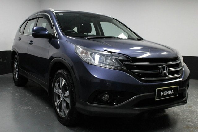 Used Honda CR-V RM MY15 VTi 4WD Plus, 2014 Honda CR-V RM MY15 VTi 4WD Plus Grey 5 Speed Sports Automatic Wagon