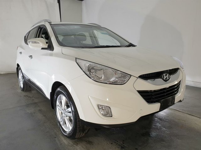 Used Hyundai ix35 LM Elite AWD, 2010 Hyundai ix35 LM Elite AWD White 6 Speed Sports Automatic Wagon