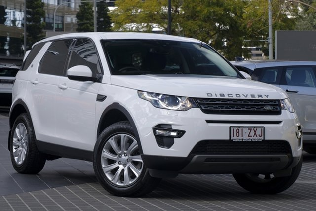 Used Land Rover Discovery Sport L550 16.5MY SD4 SE, 2015 Land Rover Discovery Sport L550 16.5MY SD4 SE White 9 Speed Sports Automatic Wagon
