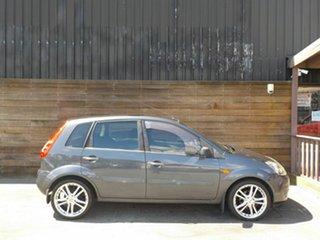2008 Ford Fiesta WQ LX Grey 5 Speed Manual Hatchback.
