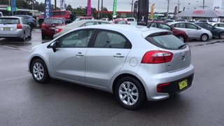 2016 Kia Rio UB MY16 S Silver 4 Speed Sports Automatic Hatchback.