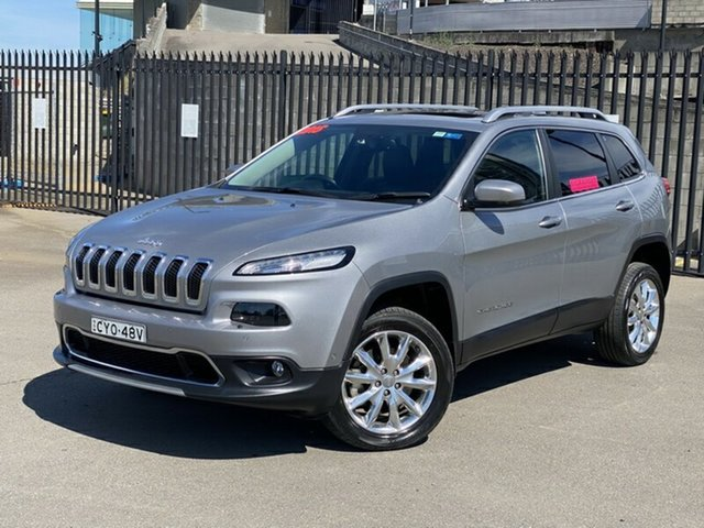 Used Jeep Cherokee KL MY15 Limited, 2015 Jeep Cherokee KL MY15 Limited Grey 9 Speed Sports Automatic Wagon