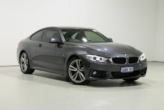 Used BMW 420i F32 MY17 M Sport, 2017 BMW 420i F32 MY17 M Sport Grey 8 Speed Automatic Coupe