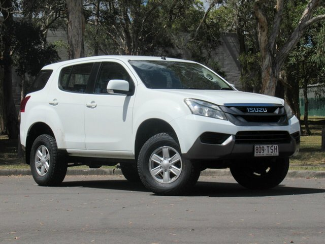 Used Isuzu MU-X MY14 LS-M Rev-Tronic, 2014 Isuzu MU-X MY14 LS-M Rev-Tronic White 5 Speed Sports Automatic Wagon
