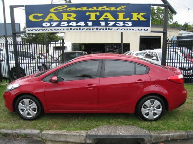 Used Kia Cerato TD MY13 S, 2013 Kia Cerato TD MY13 S Red 6 Speed Automatic Sedan