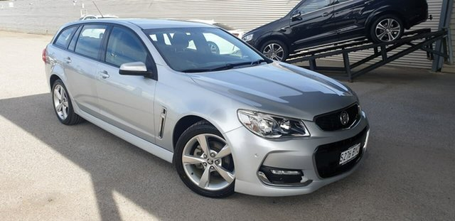 Used Holden Commodore VF II MY16 SV6 Sportwagon Elizabeth, 2016 Holden Commodore VF II MY16 SV6 Sportwagon Silver 6 Speed Sports Automatic Wagon