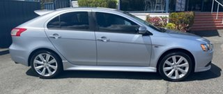 2015 Mitsubishi Lancer CJ MY15 GSR Sportback Cool Silver 6 Speed Constant Variable Hatchback.
