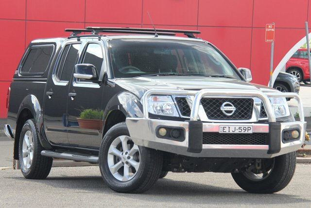 Used Nissan Navara D40 S6 MY12 ST, 2012 Nissan Navara D40 S6 MY12 ST Black 5 Speed Sports Automatic Utility