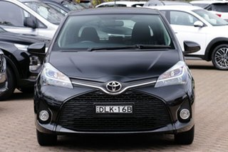 2016 Toyota Yaris NCP131R MY15 ZR Black 4 Speed Automatic Hatchback