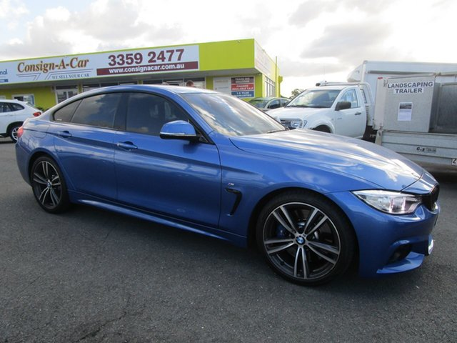 Used BMW 428i  , 2015 BMW 428i 28i GRAN COUPE MODERN LINEF36 MY15 Blue Sedan