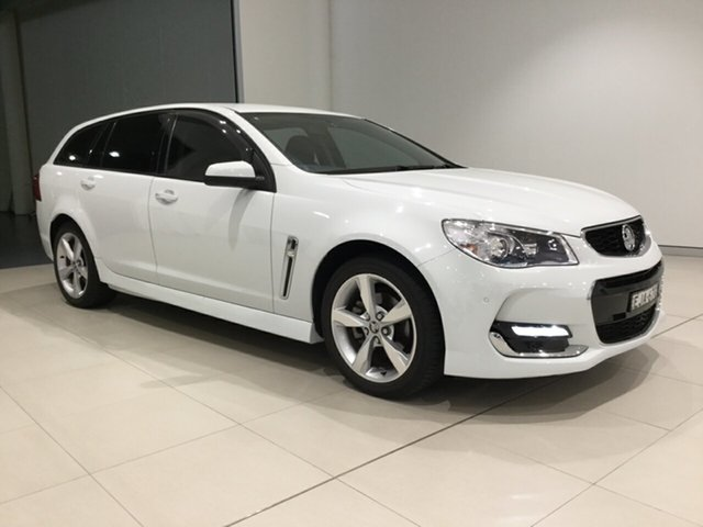 Used Holden Commodore VF II MY16 SV6 Sportwagon, 2016 Holden Commodore VF II MY16 SV6 Sportwagon White 6 Speed Sports Automatic Wagon