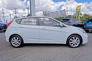 2018 Hyundai Accent RB6 MY18 Sport White 6 Speed Manual Hatchback