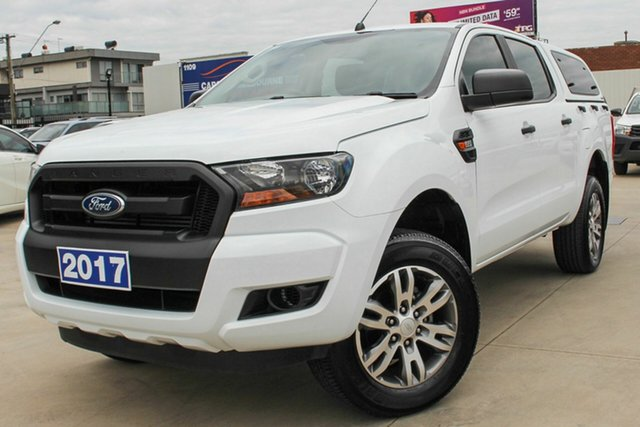 Used Ford Ranger PX MkII XL Hi-Rider, 2017 Ford Ranger PX MkII XL Hi-Rider White 6 Speed Sports Automatic Utility