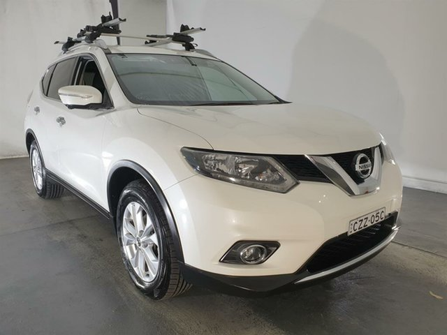 Used Nissan X-Trail T32 ST-L X-tronic 4WD, 2015 Nissan X-Trail T32 ST-L X-tronic 4WD White 7 Speed Constant Variable Wagon