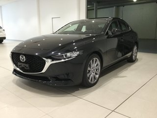 2020 Mazda 3 BP2SLA G25 SKYACTIV-Drive GT Jet Black 6 Speed Sports Automatic Sedan