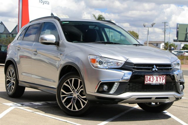 Used Mitsubishi ASX XC MY18 LS 2WD, 2017 Mitsubishi ASX XC MY18 LS 2WD Silver 1 Speed Constant Variable Wagon