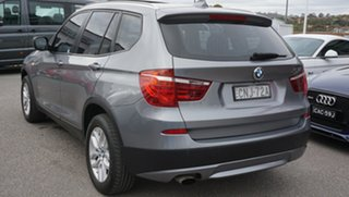 2013 BMW X3 F25 MY1112 xDrive20i Steptronic Grey 8 Speed Automatic Wagon