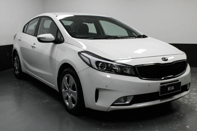 Used Kia Cerato YD MY18 S, 2018 Kia Cerato YD MY18 S White 6 Speed Sports Automatic Sedan