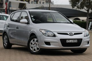 2011 Hyundai i30 FD MY12 SX Silver 4 Speed Automatic Hatchback.