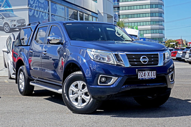 Used Nissan Navara D23 S2 ST, 2017 Nissan Navara D23 S2 ST Blue 7 Speed Sports Automatic Utility