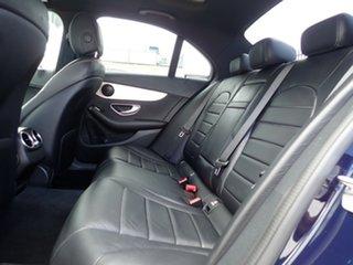 2018 Mercedes-Benz C-Class W205 809MY C300 9G-Tronic Midnight Blue 9 Speed Sports Automatic Sedan