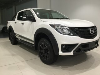 2019 Mazda BT-50 UR0YG1 Boss Snowflake White 6 Speed Sports Automatic Utility.