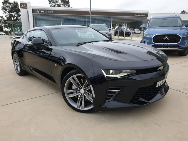 Used Chevrolet Camaro MY18 2SS, 2018 Chevrolet Camaro MY18 2SS Black 8 Speed Sports Automatic Coupe