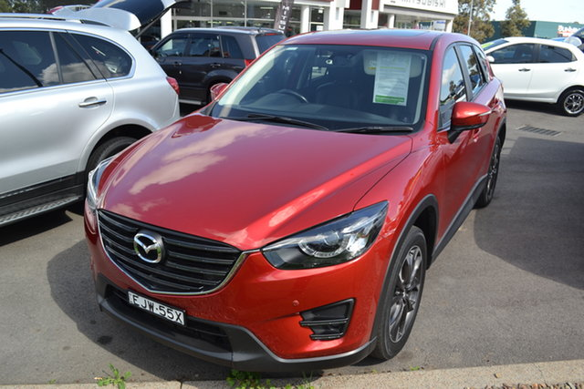 Used Mazda CX-5 KE1032 Grand Touring SKYACTIV-Drive AWD, 2016 Mazda CX-5 KE1032 Grand Touring SKYACTIV-Drive AWD Red 6 Speed Sports Automatic Wagon